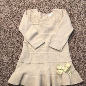 Other - Girls gold holiday dress